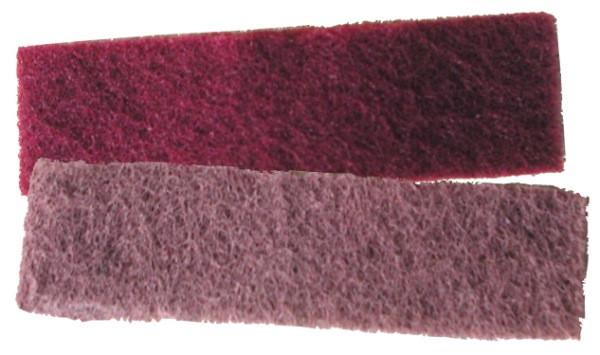 2 textures nylon abrasives (fin - très fin)