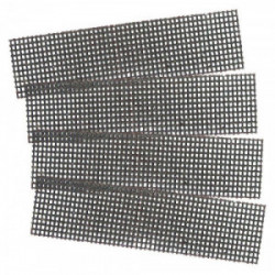 4 mailles abrasives carbure silicium (grain 180 - 320) de marque MAXICRAFT, référence: B1799700