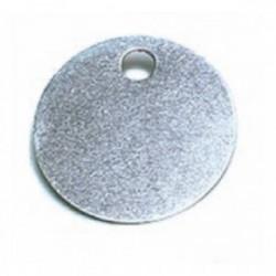 Jeton neutre en alu Ø 30 mm de marque OUTIFRANCE , référence: B1807000