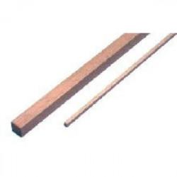 Lot de 4 baguettes carrées samba 1000 x 3 x 3 mm de marque MAXICRAFT, référence: B1812300