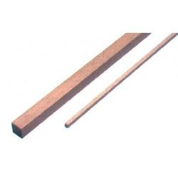 1 baguette carrée de samba 1000 x 2 x 2 mm de marque MAXICRAFT, référence: B1817200