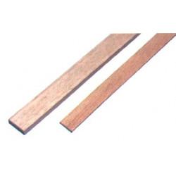 1 baguette rectangulaire Samba 1000 x 2 x 12 mm de marque MAXICRAFT, référence: B1818400