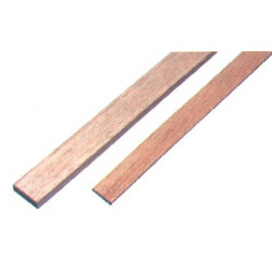 1 baguette rectangulaire Samba 1000 x 3 x 5 mm de marque MAXICRAFT, référence: B1818600