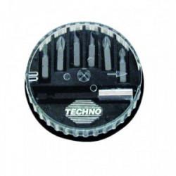 Distributeur 6 embouts tournevis de marque TECHNO, référence: B1864000