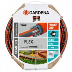 Tuyau d'arrosage Flex Ø 15 mm - 25 m de marque GARDENA, référence: J1886300