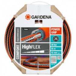 Tuyau d'arrosage HighFlex Ø 15 mm - 25 m de marque GARDENA, référence: J1886900