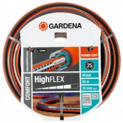 Tuyau d'arrosage HighFlex Ø 15 mm - 50 m de marque GARDENA, référence: J1887000