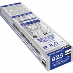 110 Electrodes traditionnelles acier rutile Ø2,5 mm de marque GYS, référence: B2424800