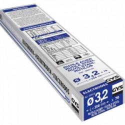 70 Electrodes traditionnelles acier rutile Ø3,2 mm de marque GYS, référence: B2424900