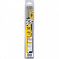 50 Electrodes traditionnelles acier rutile Ø2 mm de marque GYS, référence: B2425100