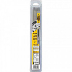50 Electrodes traditionnelles acier rutile Ø2,5 mm de marque GYS, référence: B2425200