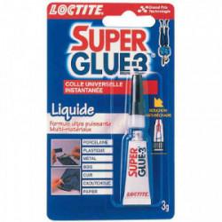 Super Glue 3 liquide 3 g de marque Loctite, référence: B2429800