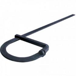 Serre-joint de maçon saillie 175 mm - 100 cm de marque Outibat, référence: B2450600
