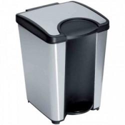 """Poubelle de salle de bain """"Foxy"""" de marque Allibert, référence: B2559700"""