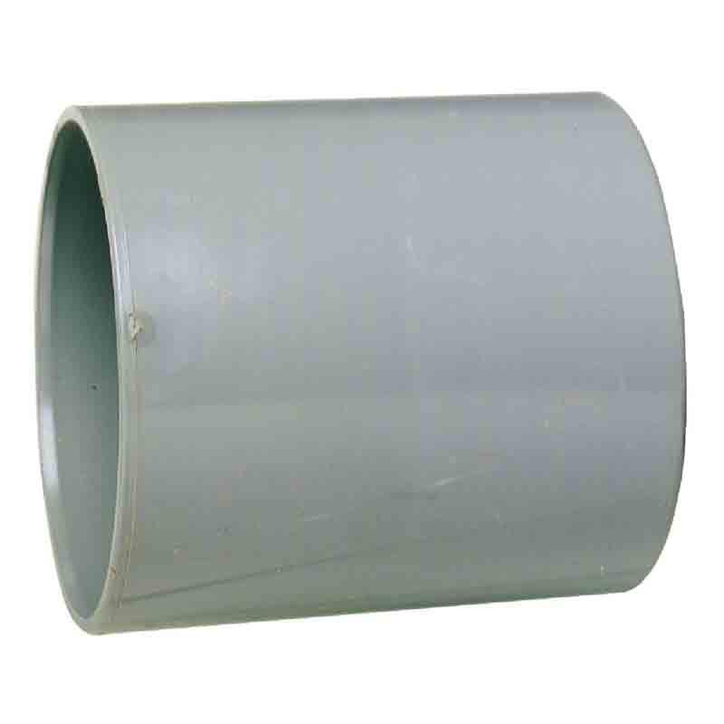 Manchon PVC avec butée intérieure femelle/femelle Ø 80 mm