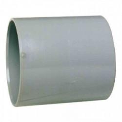 Manchon PVC avec butée intérieure femelle/femelle Ø 100 mm de marque GIRPI, référence: B2656000