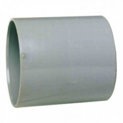 Manchon PVC avec butée intérieure femelle/femelle Ø 125 mm de marque GIRPI, référence: B2656600