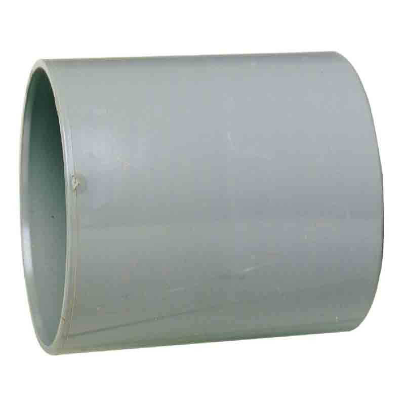 Manchon PVC avec butée intérieure femelle/femelle Ø 125 mm
