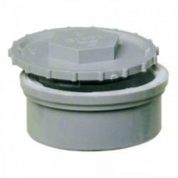 Tampon de visite pour tuyau d'évacuation Ø 100 mm de marque GIRPI, référence: B2657100