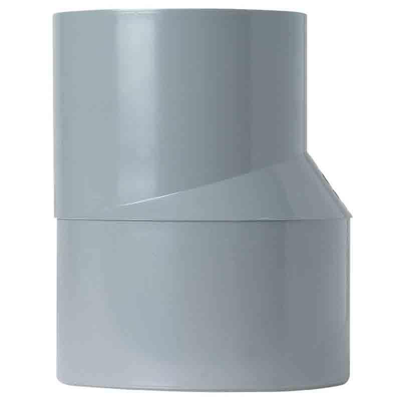 Réduction extérieure excentrée mâle/femelle Ø 125/100 mm