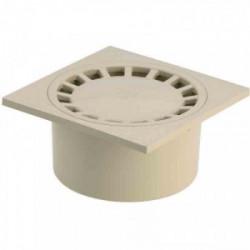 Siphon de sol PVC 200 x 200 - sable de marque GIRPI, référence: B2661800