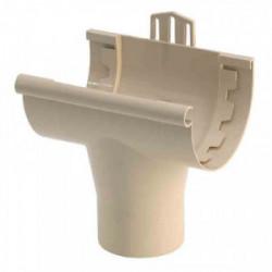Gouttière PVC - Naissance à coller Ø 25 sable de marque GIRPI, référence: B2662600