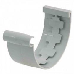 Jonction de gouttière Ø 25 gris de marque GIRPI, référence: B2662900