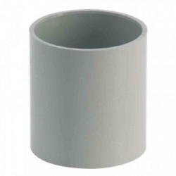 Manchon PVC femelle/femelle gris de marque GIRPI, référence: B2666100