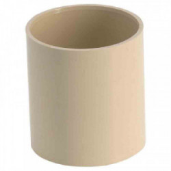 Manchon PVC femelle/femelle sable de marque GIRPI, référence: B2666200
