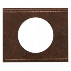 Celiane plaque 1 poste cuir texture de marque LEGRAND, référence: B3257200