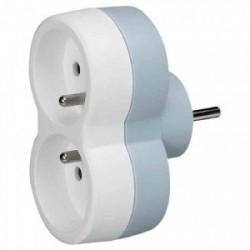 Fiche Multiprises - 16 A - 2x2P+T Blanc de marque LEGRAND, référence: B3267700