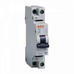 Disjoncteur phase+neutre - 2A de marque AEG, référence: B3298200