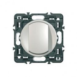 Celiane interrupteur simple ou va et vient 10A titane à composer de marque LEGRAND, référence: B3327500
