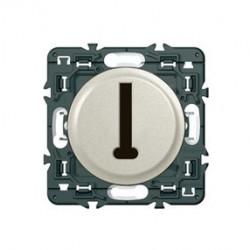 Celiane prise téléphone 8 contacts en T titane à composer de marque LEGRAND, référence: B3328100