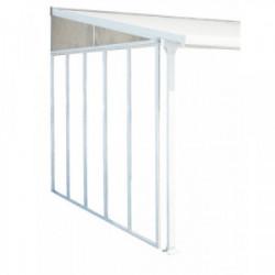 Panneau latéral pour toit terrasse 4m blanc de marque CHALET & JARDIN, référence: J3405100