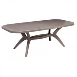 Grosfillex Table de jardin PVC \