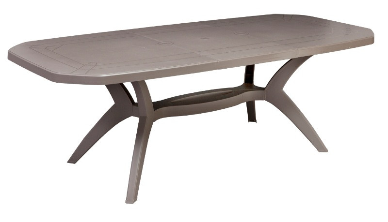 Grosfillex Table de jardin PVC \