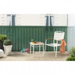 Brise-vue plastique vert 85% occultant 1,2 x 5 m TRIONET de marque NORTENE , référence: J3418200