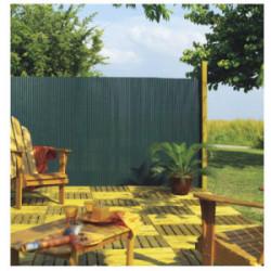 Canisse PVC simple face Vert  85% occultant 1x3 m PLASTICANE de marque NORTENE , référence: J3423100