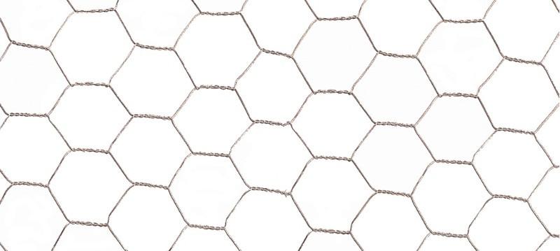 Grillage métal galvanisé triple torsion 1,9cm - 0,5 x 10m