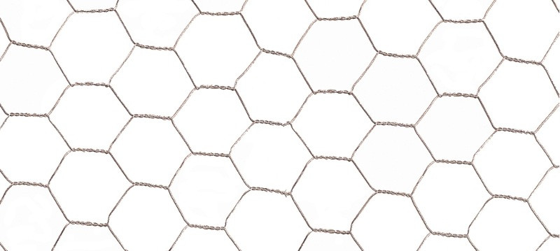 Grillage métal galvanisé triple torsion 1,9cm - 1 x 10m