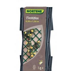 Treillis extensible en PVC 1 x 2 m gris TREILLIFLEX de marque NORTENE , référence: J3427700