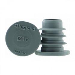 8 Obturateurs de gaine Batibox Energy 16mm de marque LEGRAND, référence: B3496000