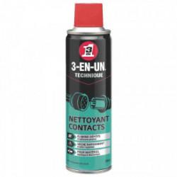 Nettoyant contact -Aérosol 250 ml de marque 3-EN-1, référence: B3512800