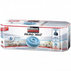 Recharge power tab pour absorbeur d'humidité x 6 de marque RUBSON, référence: B3513400