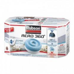 Recharge power tab pour absorbeur d'humidité x 4 de marque RUBSON, référence: B3513600