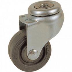 Roulette Drill à oeil pivotante 46 x ø 32 mm - Portée 20 Kg de marque GUITEL POINT M, référence: B3643200
