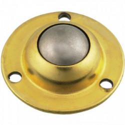 Roulette à bille à platine pour 10 Kg de marque GUITEL POINT M, référence: B3643600