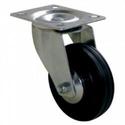 Roulette Port-roll Manutal pivotante 85 x Ø 65 mm - Portée 65 Kg de marque GUITEL POINT M, référence: B3645200