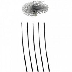 Kit de ramonage 7 m x 250 mm acier de marque Scid, référence: B3673400